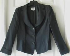 Armani Collezioni Womens Italian Grayish Green Acetate Silk Blazer Jacket Sz 10