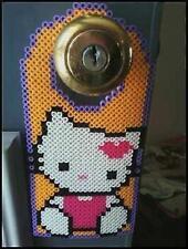 Hello Kitty Perler Bead Door Hanger