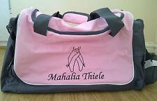 Personalizzata Ballet travel sport bag zainetto QUADRA