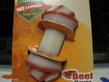 Nylabone Rawhide Alternative Knot Bone Power Chew Beef Flavor for up to 15 lbs.