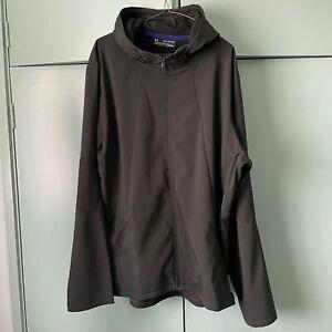 Under Armour UA running training Windproof jacket fleece lined 3XL XXXL USED