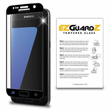 2X For Samsung Galaxy S7 EZguardz Premium Tempered Glass Screen Protector