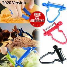 NEW 2020 3 Pack Professional Magic Trio Peeler Vegetable Fruit Potato Julienne