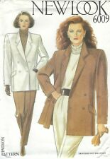 New Look 6009 Misses' Jacket 8 to 18    Sewing Pattern