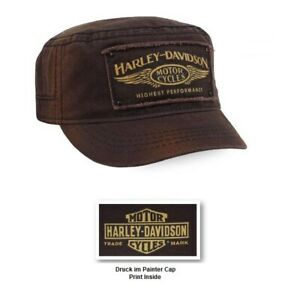 Harley-Davidson Painter Cap Braun Modell Highest Performance #PC33668