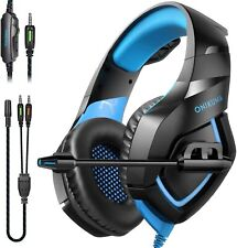 Gaming Headphones Bluetooth Best Wireless For PC Laptop XBox One Headset LED