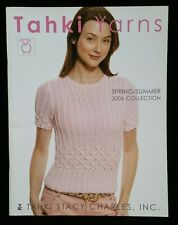 Beadshine 2006 Spring Summer Collection 24 Patterns Tahki Stacy Charles Yarns
