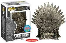 Game Of Thrones Pop Television Vinyl Figur Iron throne NYCC 14 Cm