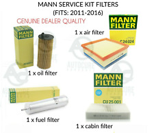 FITS BMW 3 SERIES 2.0 318D 11-16 (F30) DIESEL SERVICE KIT MANN FILTERS