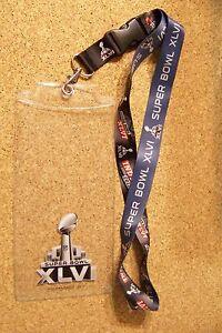 2012 Super Bowl 46 XLVI ticket holder NY New York Giants New England Patriots SB