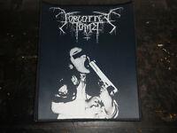Forgotten Tomb Backpatch Patch Black Metal DSBM Horna Tsjuder