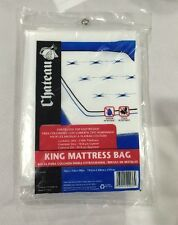 """New Chateau King Mattress Bag 76""""x15""""x90"""" Water Stain Resistant Moving/Storage"""