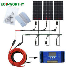 300W Solar Panel Kit :3x 100W Mono Solar panel for 12V Car Home Battery Charger