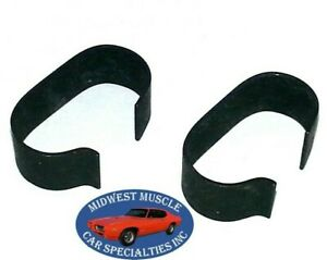 """GM Chevy 5/16"""" Automatic Transmission Oil Fluid Cooler Line Spring Clips 2pc MD"""