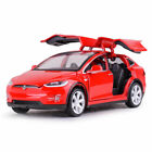 1:32 Tesla Model X 90D SUV Model Car Diecast Toy Vehicle Collection Kid Gift Red
