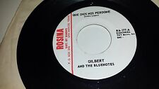 """GILBERT & THE BLUENOTES No Ay Lugar / Que Dios Nos Perdone ROSINA 177 45 7"""""""