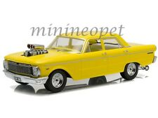 GREENLIGHT DDA004 1965 FORD CP FALCON 50TH ANNIVERSARY 1/18 ENGINE BLOWER YELLOW