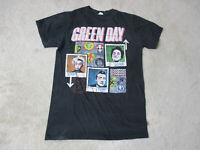 Green Day 99 Revolutions Concert Shirt Adult Small Black Punk Rock Band Mens *