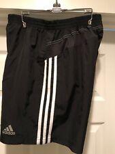 """Mens Adidas """"Response"""" 7 inch size Medium Black Running/Training shorts"""