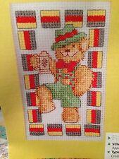 Jolly German Cross Stitch Chart