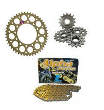 Yamaha R6 5EB 98 99 00 01 02 Renthal & Tsubaki 520 Course Kit Chaine & Pignon