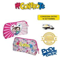 Astuccio Pouch Me Contro Te Rosa Lady 1 Zip 13x22x5 PoolOver Young People