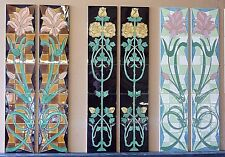 Reproduction Fine Victorian Fireplace Tiles (Various Designs)