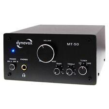 DynaVox mt-50 HiFi amplificador estéreo, amp, mini amplificador, 2 x 50 vatios de música