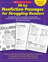 Hi-Lo Nonfiction Passages for Struggling Readers : 80 High-interest/low-reada...