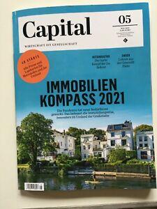 Capital Zeitschrift Mai 2021 neu Wirtschaft und Finanzen