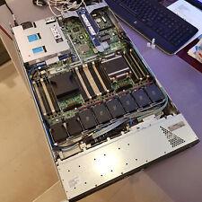 HP ProLiant HPE DL360p Gen8 2.5GHz E5-2609V2 460W 4xSAS HDD's (2.4TB) 16GB RAM