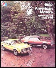 1982 AMC Prestige Brochure Spirit Concord Eagle American Motors