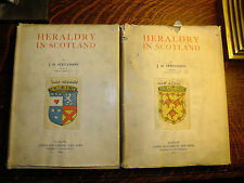 Heraldry In Scotland J.H Stevenson - Library Of Lord Fairfax Of Cameron