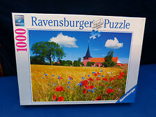4438. Puzzle, Kirche auf Bornholm, Dänemark,  1000 Teile, Ravensburger