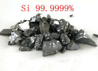 50 grams High Purity 99.9999% Monocrystalline Silicon Si Metal Lumps