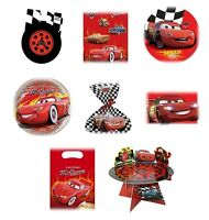 Disney CARS Birthday PARTY Range (Tableware, Balloon & Decorations) PROCOS OLD
