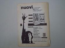advertising Pubblicità 1959 FRIGORIFERI REX