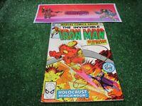 vtg invincible Iron Man 147  Marvel Comic book 1st print hi res pics