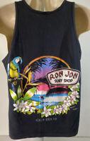 Vintage 1986 Ron Jon Surf Shop Coco Beach Florida Tank Top  Single Stich
