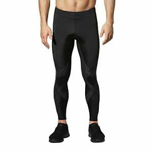 CW-X Men's Stabilyx Joint Support Compression Sports Tights Black Small