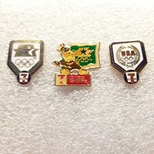 Lot of 3 - 1984 Los Angeles Olympic Games 7-Eleven Sponsor Pins