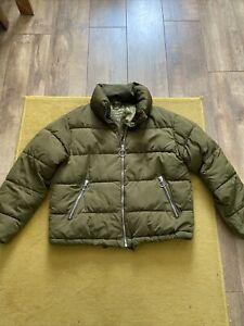 Womens Pull And Bear Coat Jacket Size Small