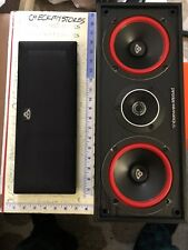 PRE OWNED Cerwin Vega  Dual Center Channel Speaker