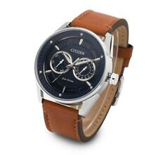 Citizen BU4021-17L Eco-Drive Brown Leather Strap 42mm Men's Watch