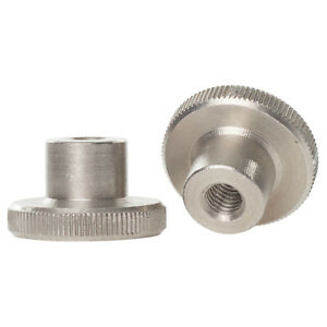 M2 M2.5 M3 M4 M5 M6 M8 STAINLESS STEEL HIGH KNURLED THUMB NUTS HAND GRIP KNOBS