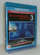 Paranormal Activity 3 (2-Disc, Blu-ray and DVD Combo, 2012) New/Sealed
