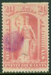 EDW1949SELL : USA 1894 Scott #PR96 Used. Rare stamp PSAG Cert. Catalog