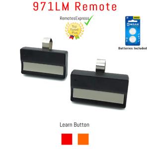 971LM Remote Garage Door Opener New 2-Pack Liftmaster Craftsman Chamberlain