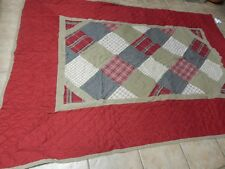 WOOLRICH BEAUTIFUL QUILT COVERLET, NWT