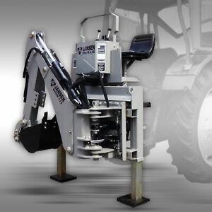 Heckbagger Jansen BHSM-175 Anbaubagger Traktorbagger Bagger Minibagger Traktor